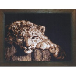 Cross Stitch Kit Leopard art. 398