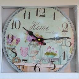 Wall Clock - Home Sweet Home