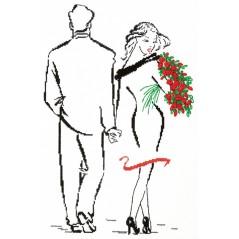 Cross Stitch Kit Romance of Valentine art. 66-14