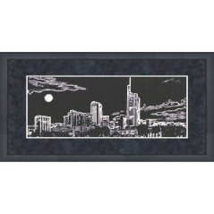 Cross Stitch Kit City At Night S-007