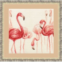 Cross Stitch Kit Flamingo 3 F-003