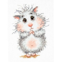 Cross Stitch Kit Buy hamster, please! art. 19-16