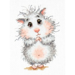Cross Stitch Kit Buy hamster, please! art. 19-16