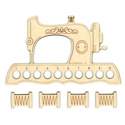 Mouline Organizer Sewing Machine + 4 Spools OR-037 10 holes
