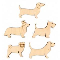 MOULINE SPOOL SET DOGS (10 PCS) OR-038