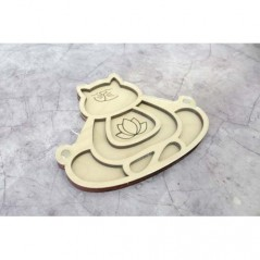 ORGANIZER FOR BEADS AND DRILLS CAT-YOGI (WITH LID) OR-186