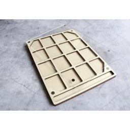 ORGANIZER FOR BEADS AND DRILLS STRAIGHT 2 (WITH LID) OR-186
