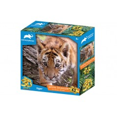 TIGER PRIME 3D PUZZLE 63 PIECES ANIMAL PLANET