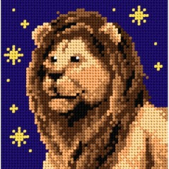 TAPESTRY CANVAS Zodiac Leo 15x15cm 2144D