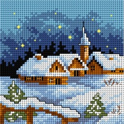 TAPESTRY CANVAS Winter 15x15cm 2170D