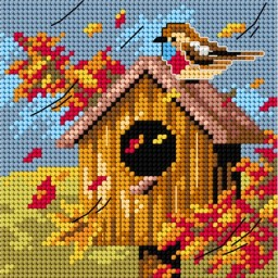 TAPESTRY CANVAS Autumn 15x15cm 2307D
