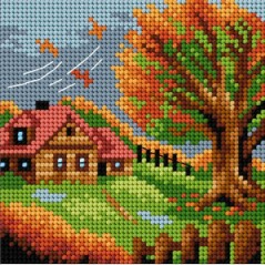 TAPESTRY CANVAS 15x15cm 2478D