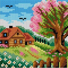 TAPESTRY CANVAS 15x15cm 2480D