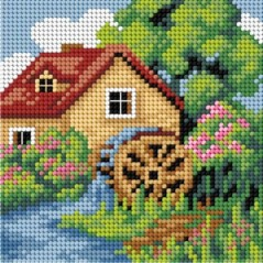 TAPESTRY CANVAS 15x15cm 2742D