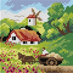 TAPESTRY CANVAS 15x15cm 2743D
