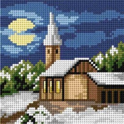 TAPESTRY CANVAS Winter 15x15cm 2745D