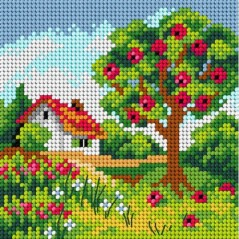 TAPESTRY CANVAS 15x15cm 2842D