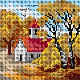 TAPESTRY CANVAS 15x15cm 2958D