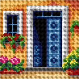 TAPESTRY CANVAS Home 15x15cm 3062D
