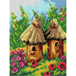 TAPESTRY CANVAS Beehives 2873E