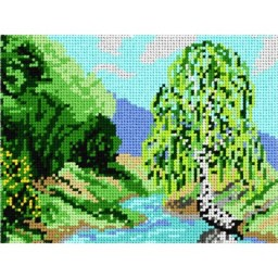 TAPESTRY CANVAS Landscape 18x24cm 1287F