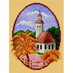 TAPESTRY CANVAS Autumn 18x24cm 1650F