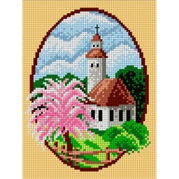 TAPESTRY CANVAS Spring 18x24cm 1668F