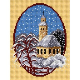 TAPESTRY CANVAS Winter 18x24cm 1670F