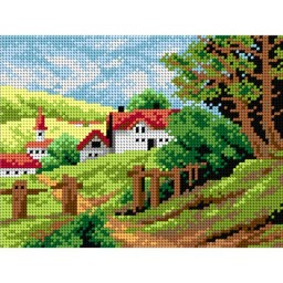 TAPESTRY CANVAS Cottage 18x24cm 2157F