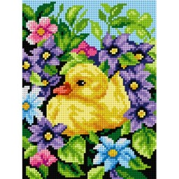 TAPESTRY CANVAS Duckling 18x24cm 2533F