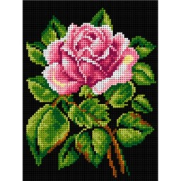 TAPESTRY CANVAS Smelling Rose 18x24cm 2574F