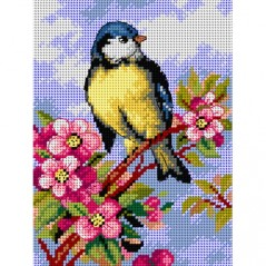TAPESTRY CANVAS Blue Bird 18x24cm 2620F