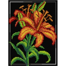 TAPESTRY CANVAS Lily 18x24cm 3051F