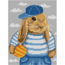 TAPESTRY CANVAS Bunny 18x24cm 3080F