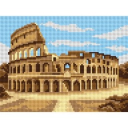 TAPESTRY CANVAS Rome Colosseum 18x24cm 3196F