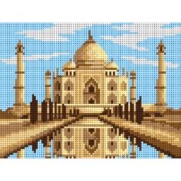 TAPESTRY CANVAS Taj Mahal 18x24cm 3197F
