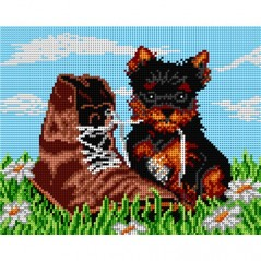 TAPESTRY CANVAS Unruly Dog 24X30cm 1524H
