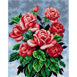 TAPESTRY CANVAS Bouquet of Roses 24X30cm 2220H