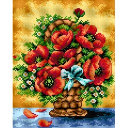 TAPESTRY CANVAS Bouquet of Flowers 24X30cm 2413H