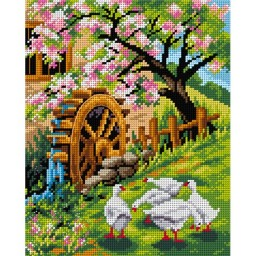 TAPESTRY CANVAS Spring 24X30cm 2579H