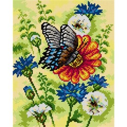 TAPESTRY CANVAS Summer Meadow 24X30cm 2669H
