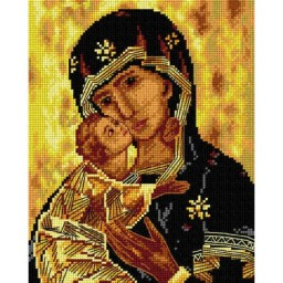 TAPESTRY CANVAS Madonna and Child 2749H