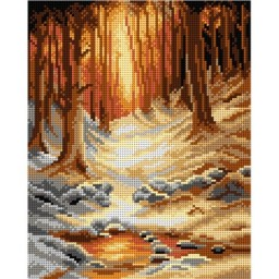 TAPESTRY CANVAS In Deep Midwinter 24X30cm 2934H