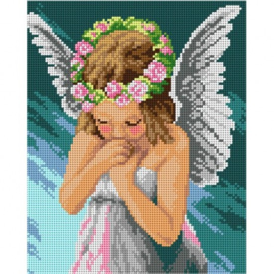 TAPESTRY CANVAS Angel 24X30cm 3042H