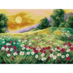 TAPESTRY CANVAS Sunny Meadow 30X40cm 2519J