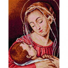 TAPESTRY CANVAS Our Lady 30X40cm 1762J