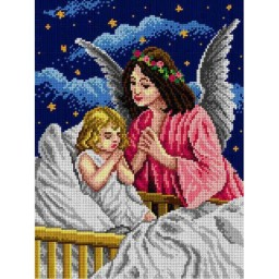 TAPESTRY CANVAS The Guardian Angel 30X40cm 1871J