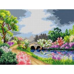 TAPESTRY CANVAS Spring Landscape 30X40cm 2320J