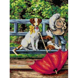 TAPESTRY CANVAS Where Are They 30X40cm 2668J