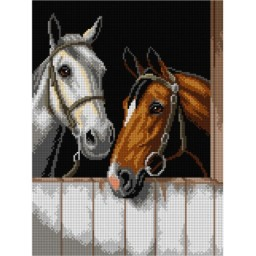TAPESTRY CANVAS Spick and Span after Robert Atkinson Fox 30X40cm 3091J